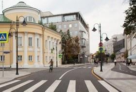 Обновлённая Пятницкая улица