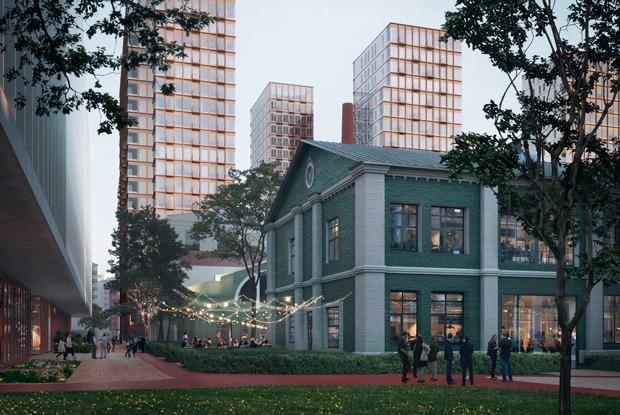 Бадаевский beta: Исторический завод на Пресне сносят ради ЖК соткрытым бассейном