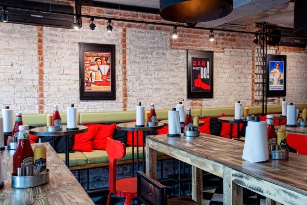 Новый проект от «Братьев Караваевых», кафе нанабережной ивторая бургерная #FARШ