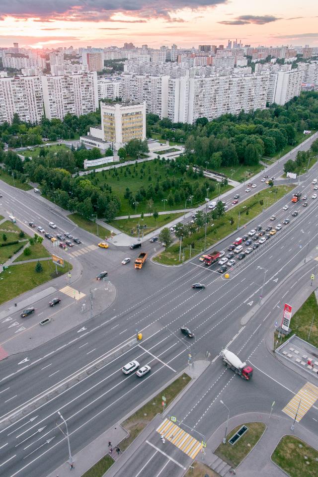 Самые опасные перекрестки вМоскве
