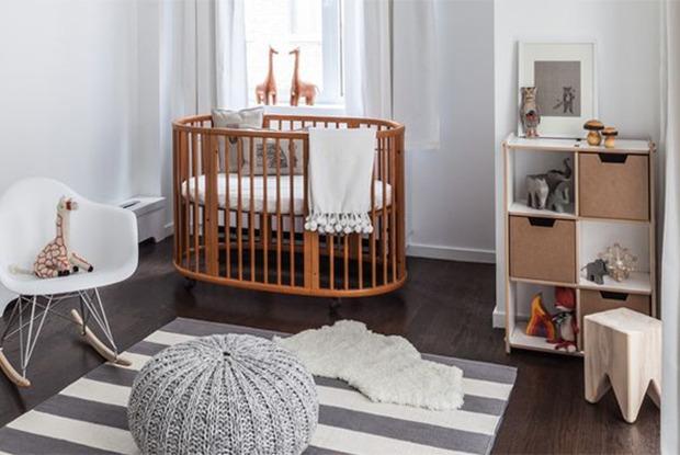 Как организовать детскую воднокомнатной квартире