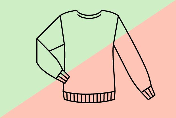 Самый дорогой и самый дешёвый свитер в магазине Zara