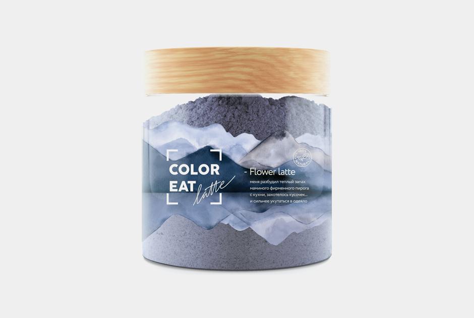 Розовый латте исиреневые блины: Натуральные пищевые красители ColorEat