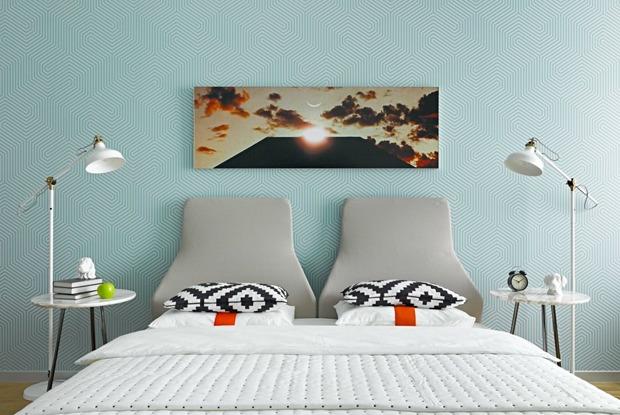 Просторная квартира для любительницы путешествий ифильмов Стэнли Кубрика