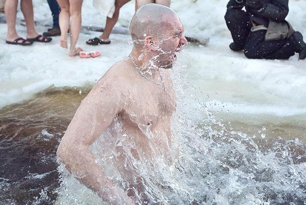 Крещенские купания вснимках Instagram