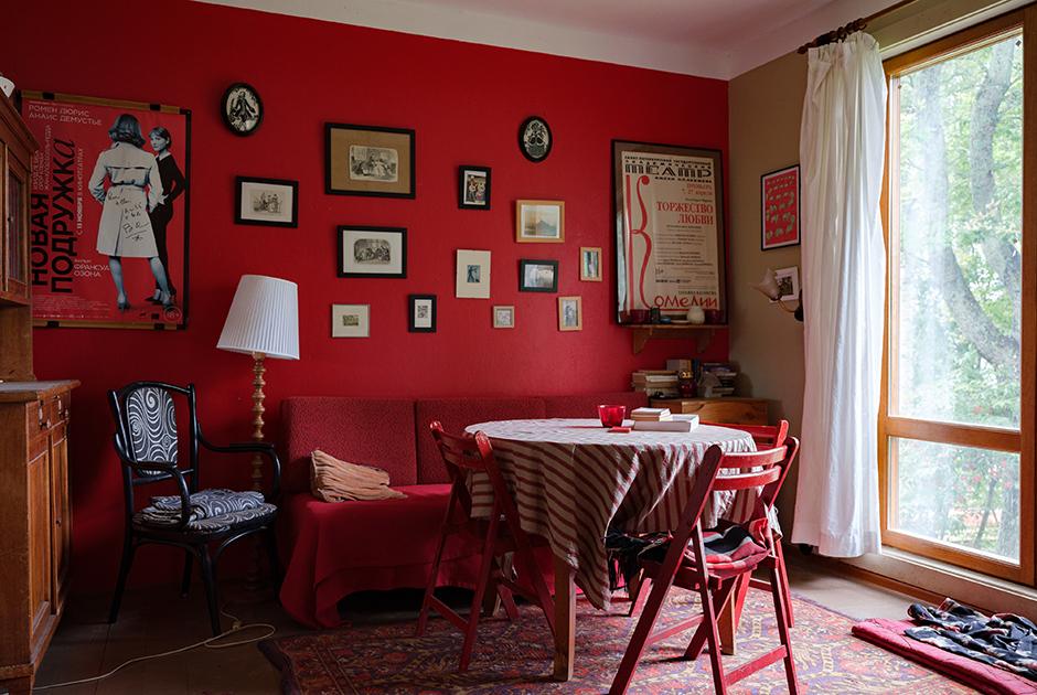 Интерьеры с помоек — на писательской даче в Сосново