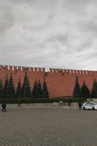 Ураган сорвал один иззубцов Кремлевской стены