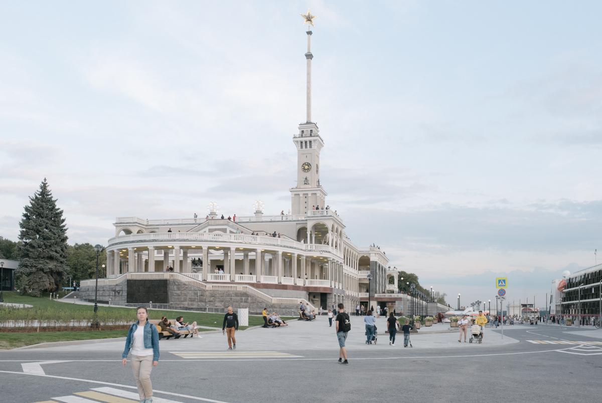Как выглядит обновленный Северный речной вокзал