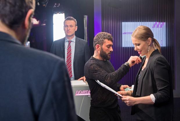 Дебаты Лебедева и Навального: Очем спорили дизайнер с политиком