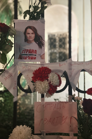 «Цепи солидарности» сбелорусками вМоскве иПетербурге