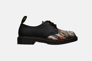 Ботинки Dr.Martens сработами Жан-Мишеля Баския