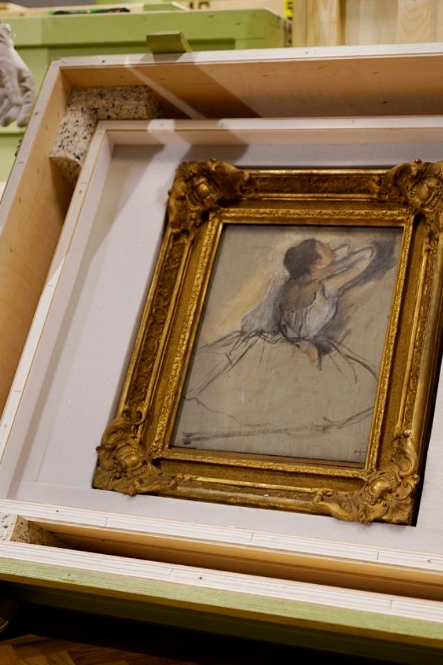 В центр «Эрмитаж-Урал» привезли экспонаты первой выставки из собрания Эрмитажа