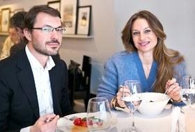 Анастасия иСергейРябцовы оресторане VogueCafe