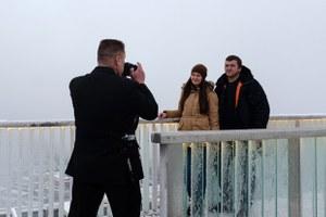 Как выглядит каток на крыше небоскреба в«Москва-Сити»