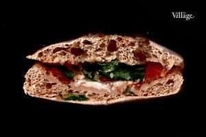 Составные части: Сэндвич «Капрезе» с моцареллой из Costa Coffee