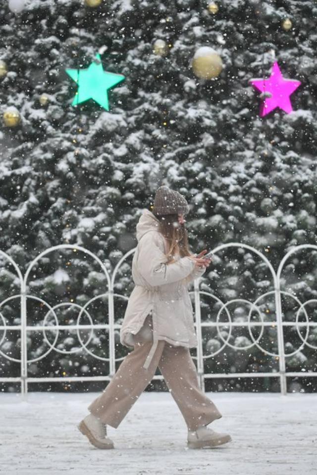 Наследующей неделе вМоскву придут мощные снегопады