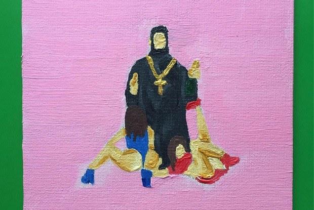 Искусство бунта и обложка «Раскрасок для взрослых» в инстаграме Никиты Жижанова