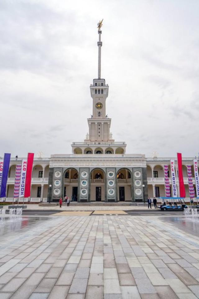 В Москве после реставрации открыли Северный речной вокзал