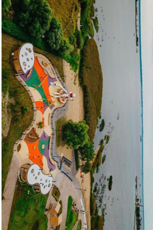 Вторая часть «Острова Фортов» в Кронштадте открылась. В проект добавили набережную, зоны отдыха и новые арт-объекты