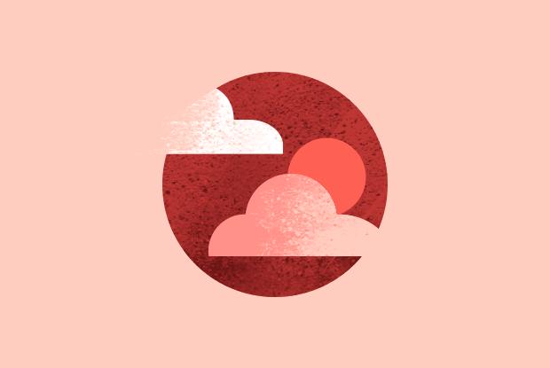 Красное солнце надМосквой