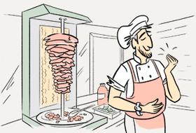Почему шаурму готовят только мужчины