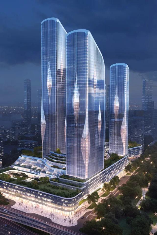 Архитектурное бюро Захи Хадид построит вМоскве жилой кластер