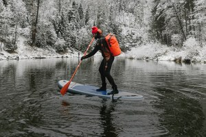 Уральский серфинг: Зимний репортаж с Чусовой