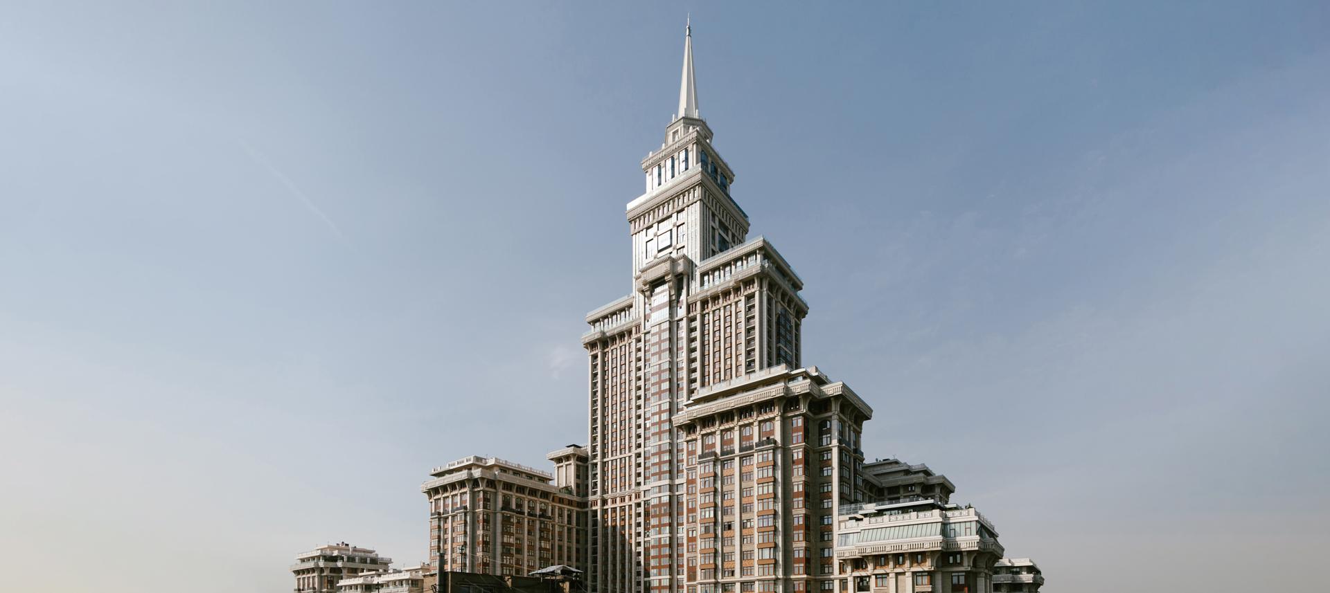«Я живу всамом высоком жилом доме России»