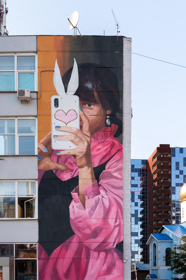 Два мурала от финских художников на Шейнкмана и в Банковском