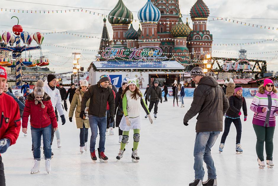 Как работают главные московские катки во время пандемии