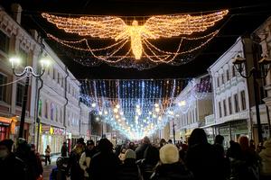 Нижний Новгород в новогодние каникулы