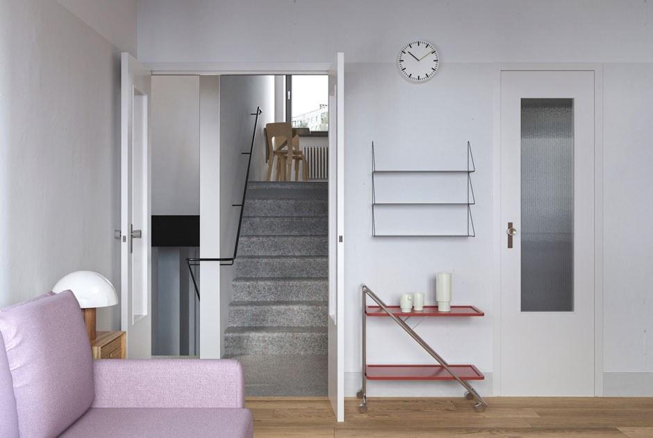 Polustrovo.mod: Инстаграм-блог обархитектуре модернизма иремонте втрехэтажной двушке