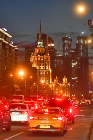 Несколько улиц вМоскве перекроют из-за репетиции парада коДню Победы