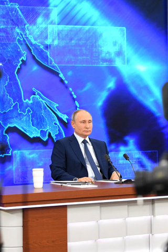 Популярность Путина среди москвичей упала на14 % задва года