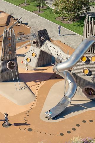 «Интеко» разработала умные детские площадки. Они помогут ребенку научиться думать и ставить цели