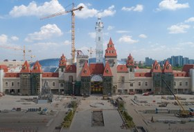 Как вНагатинской пойме строят «Остров Мечты»