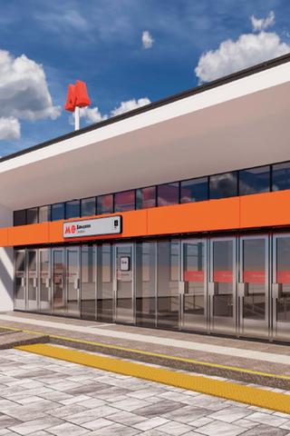 Как будет выглядеть станция метро «Давыдково»