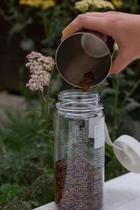 Баночки для хранения зерна откофейни «Человек ипароход»