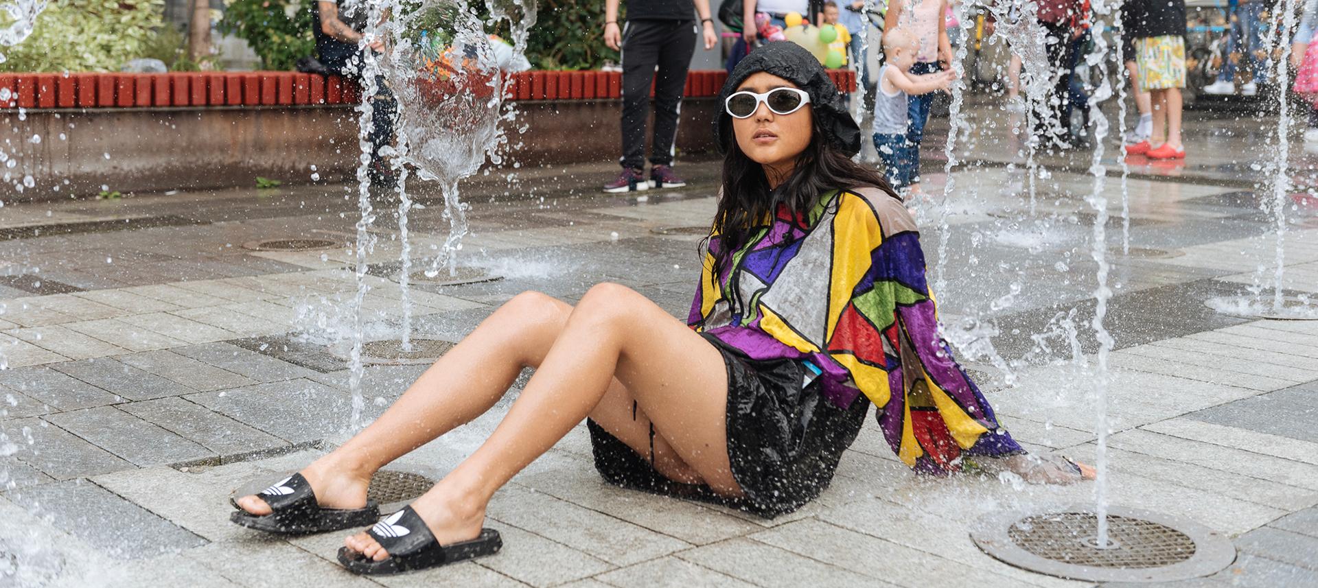 Команда «Шувакиша» тестирует фонтаны Екатеринбурга