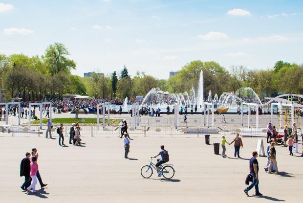 Планы налето: Московские парки