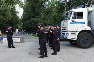 Сколько полицейских можно встретить впятницу на«Китай-городе»