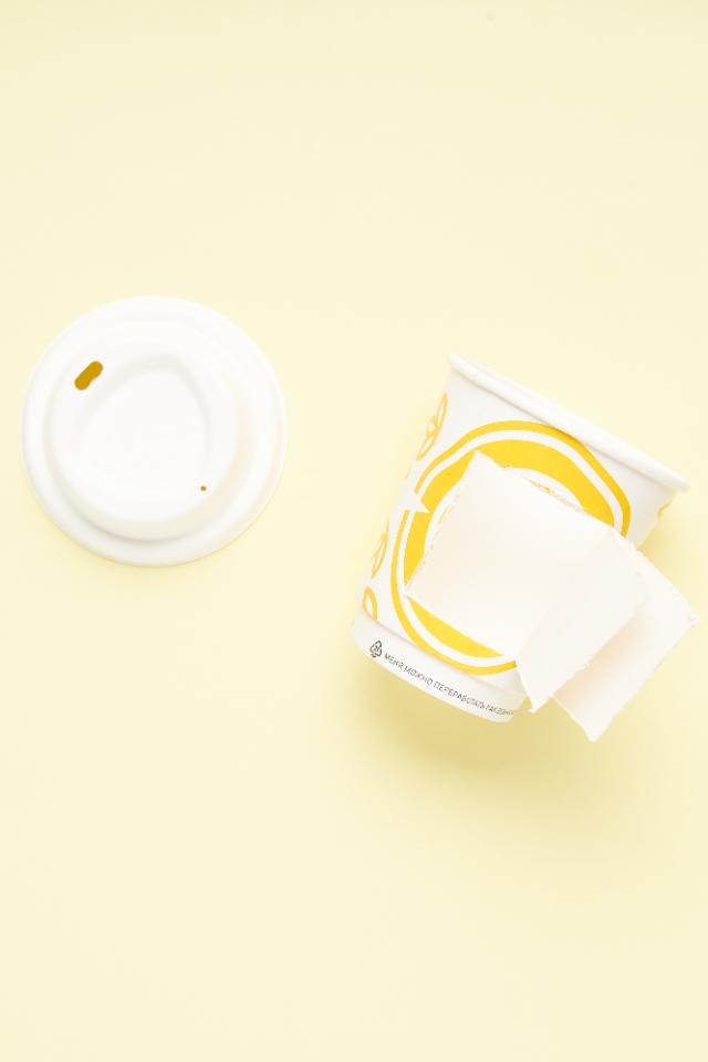 ВBlanc, «Человеке ипароходе» идругих кофейнях появились стаканы навынос без слоя пластика