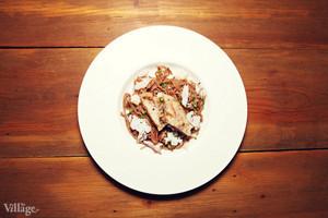 Рецепты шефов: Паста из «Бородинского» хлеба с хлопьями копченого судака