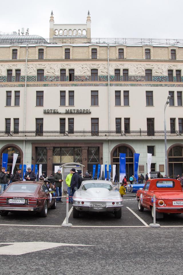 «Ингосстрах» проведет вМоскве ралли наклассических авто