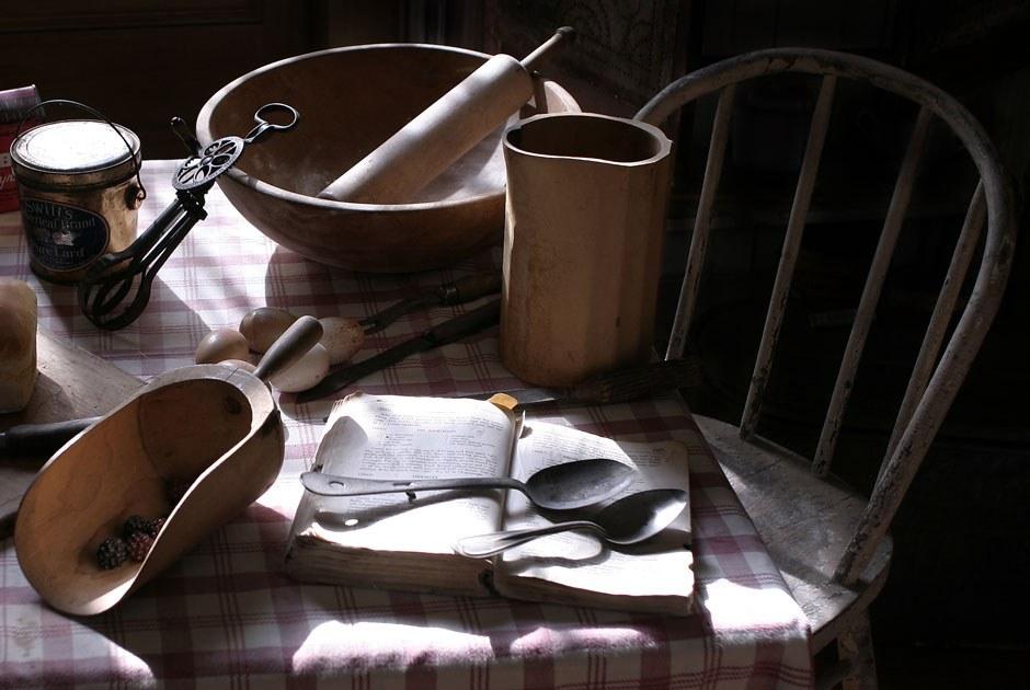Попробуйте повторить рецепты изкниги XIXвека
