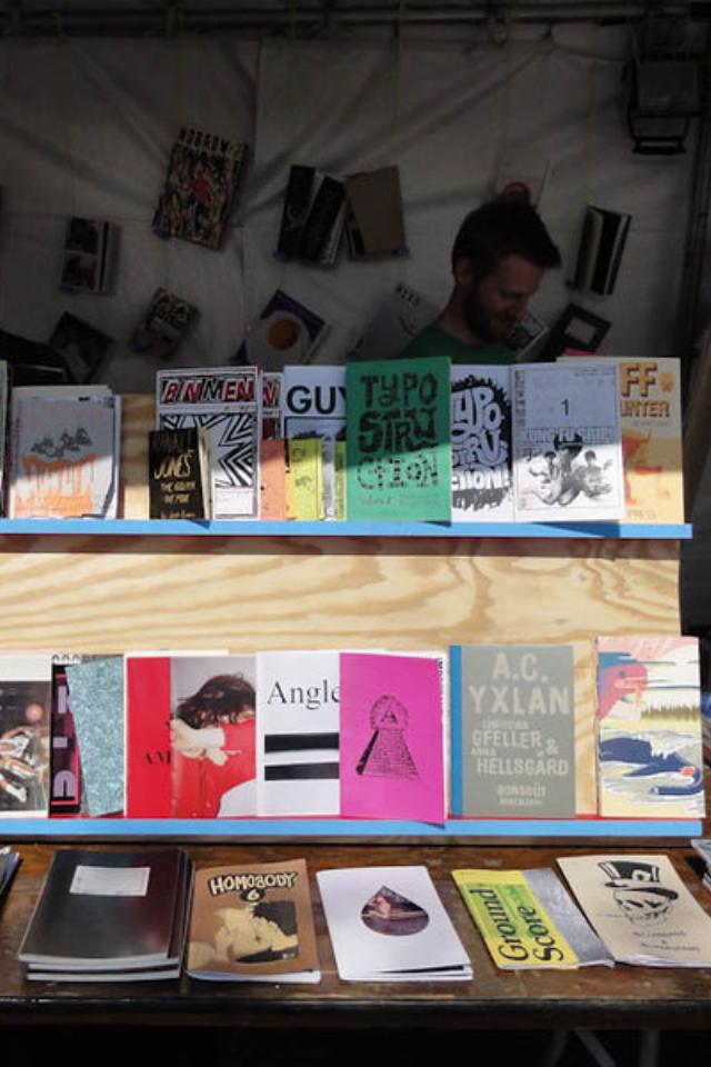 Ввыходные вгалерее «Ходынка» будет маркет авторских изданий исвоп