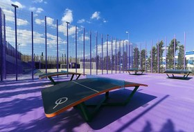 Новые спортивные площадки в парке «Краснодар»