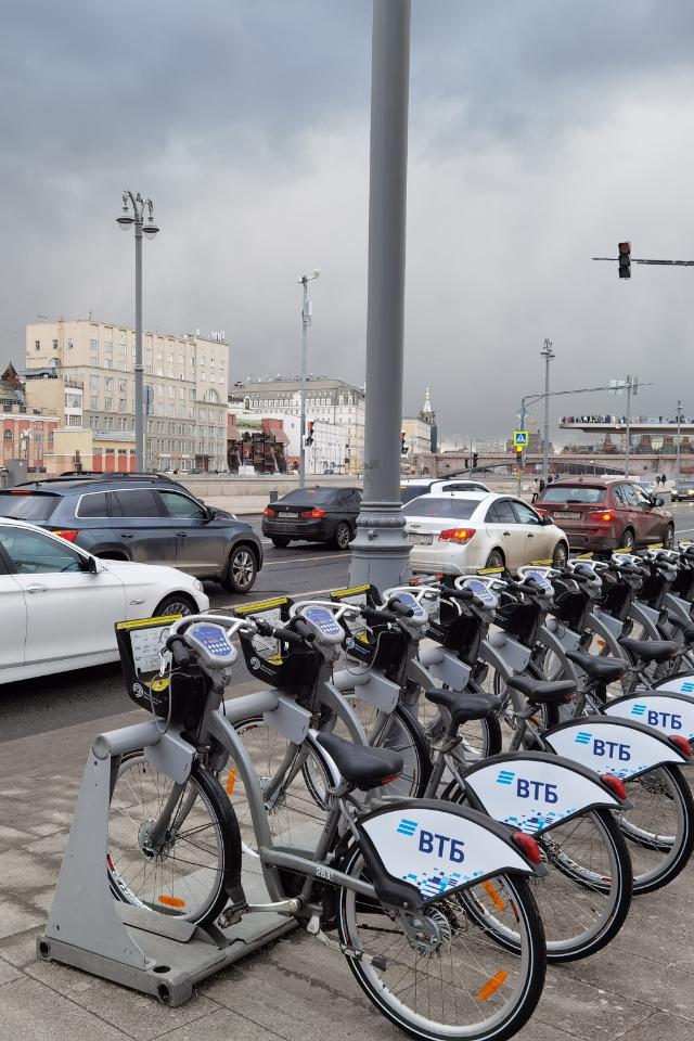 ВМоскве наДень города суточный прокат велосипеда будет стоить 5рублей