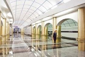 Фоторепортаж: Станции метро «Международная» и«Бухарестская» изнутри