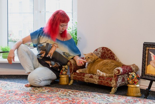«Тотальная котификация»: Автор мема «котЗаратустра» — о своей квартире на улице Рубинштейна